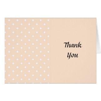 Lunares ligeros de la sopa de mariscos tarjeta de felicitación