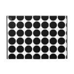 Lunares negros en blanco iPad mini fundas