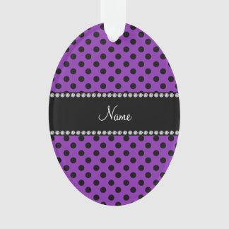 Lunares negros púrpuras conocidos personalizados