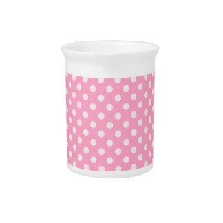 Lunares - palidezca - rosa en rosa del clavel jarron
