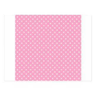 Lunares - palidezca - rosa en rosa del clavel tarjetas postales