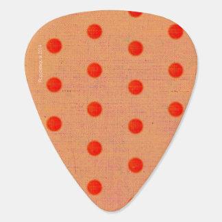 Lunares Plumilla De Guitarra