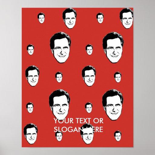LUNARES RED.png de MITT ROMNEY Posters