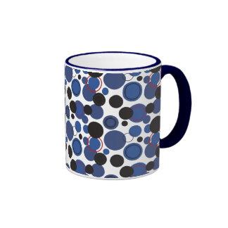 Lunares retros a montones - 22 taza de café
