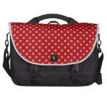 Lunares rojos bolsas para portátil