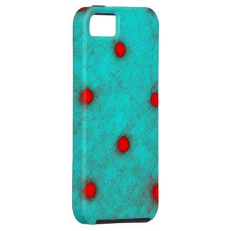 Lunares rojos iPhone 5 funda