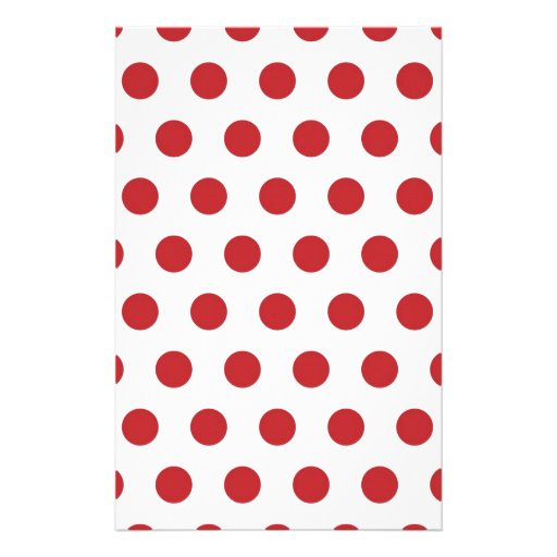 Lunares rojos papeleria de diseño