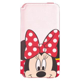 Lunares rojos y blancos de Minnie el | Funda Billetera Para iPhone 6 Watson
