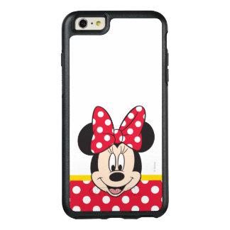 Lunares rojos y blancos de Minnie el | Funda Otterbox Para iPhone 6/6s Plus