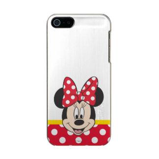 Lunares rojos y blancos de Minnie el | Funda Para iPhone 5 Incipio Feather Shine