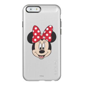 Lunares rojos y blancos de Minnie el | Funda Para iPhone 6 Plus Incipio Feather Shine