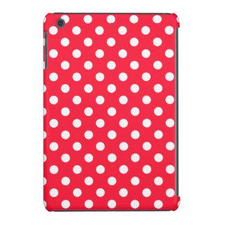 Lunares rojos y blancos funda de iPad mini