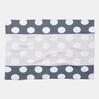 Lunares románticos modernos elegantes personalizad toalla de mano