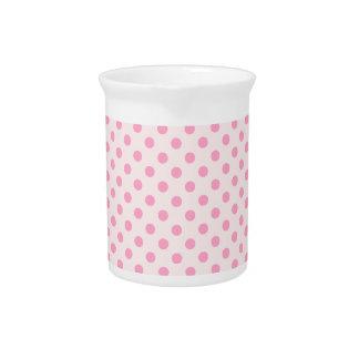 Lunares - rosa del clavel en pálido - rosa jarrón
