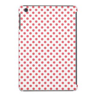 Lunares rosados coralinos de Shirley Taylor Funda Para iPad Mini Retina