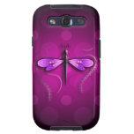 ¡Lunares rosados de la mosca del dragón! Galaxy S3 Carcasas