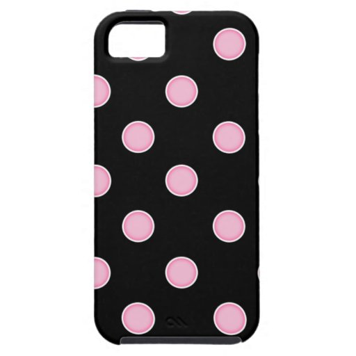 ¡Lunares rosados del chicle! iPhone 5 Case-Mate Carcasas