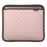 Lunares rosados dulces fundas para iPads