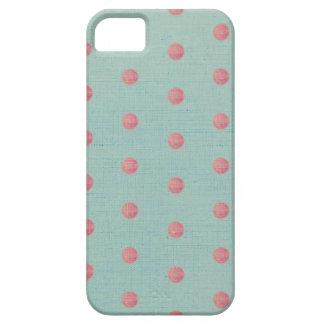 Lunares rosados iPhone 5 fundas