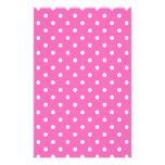 lunares rosados  papeleria