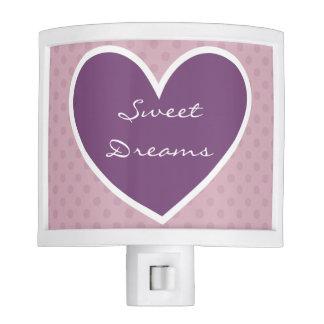 Lunares rosados Purple Heart V07 de los sueños dul