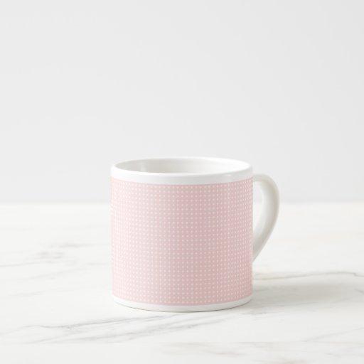 Lunares rosados taza espresso