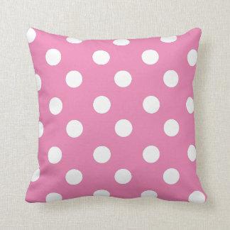 Lunares rosados y blancos o CUALQUIE color de Cojin