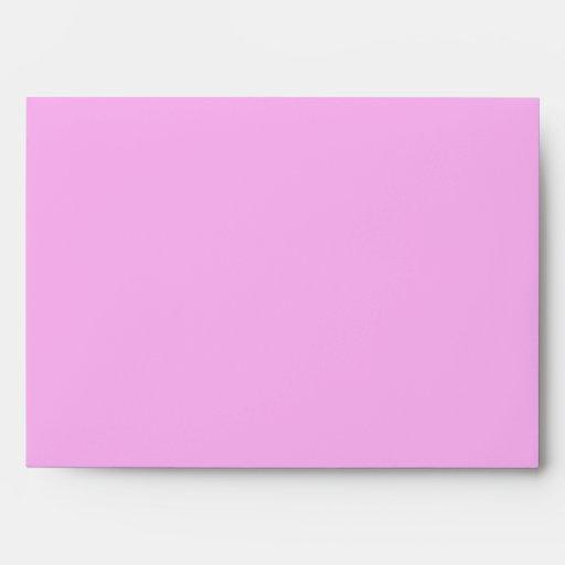Lunares rosados y blancos sobres
