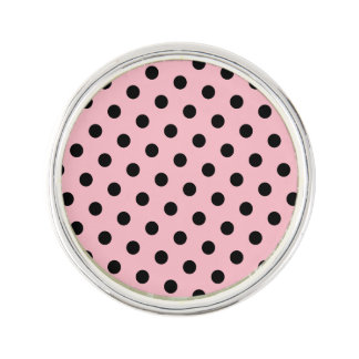Lunares rosados y negros pin