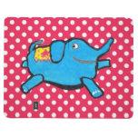 Lunares tontos del elefante cuaderno grapado