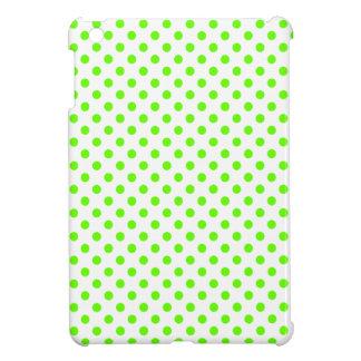 Lunares - verdes claros en blanco