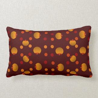 Lunares y calabazas almohada