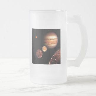 Lunas galileas astronomía de Júpiter y regalos de  Taza De Café