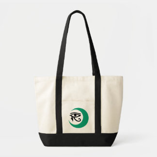 LunaSees Logo Bag (Jade/black eye on light bag)