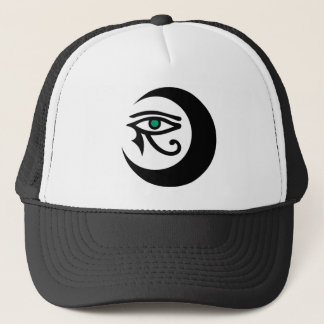 LunaSees Logo Hat (black / jade eye)