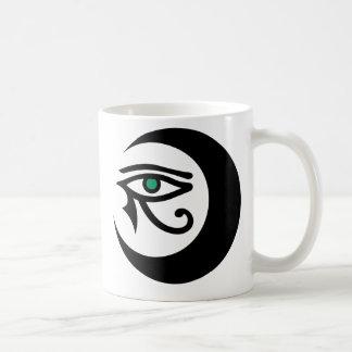 LunaSees Logo Mug (black with jade iris)