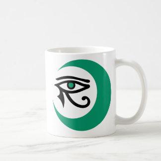 LunaSees Logo Mug (Jade with jade iris)
