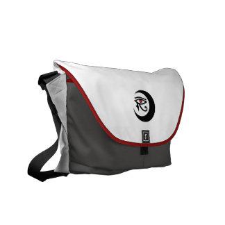 LunaSees Love Rickshaw Medium Zero Messenger Bag