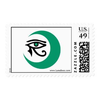 LunaSees Postage (jade / jade eye)