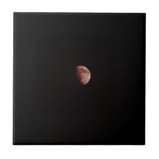 """Lunasia"" - Small Ceramic Photo Tile"