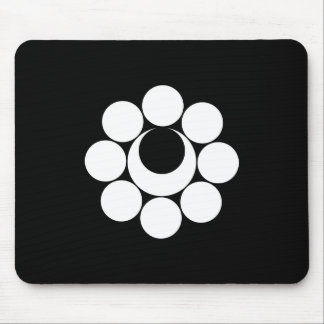 Lunate nine heavenly body mouse pad