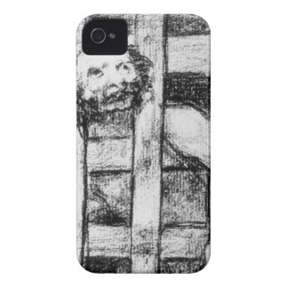 Lunatic behind Bars by Francisco Goya Case-Mate iPhone 4 Cases