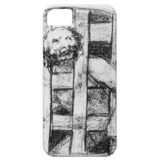Lunatic behind Bars by Francisco Goya iPhone 5 Case