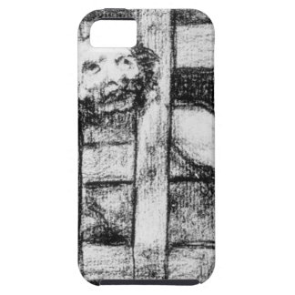 Lunatic behind Bars by Francisco Goya iPhone 5 Covers