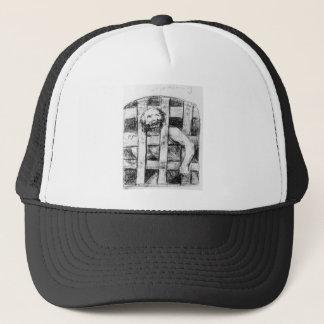 Lunatic behind Bars by Francisco Goya Trucker Hat