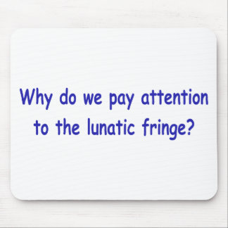 Lunatic fringe mouse pads