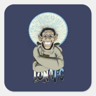 Lunatic! Square Sticker