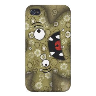 ¡Lunatik fangoso! caso del iPhone 4 iPhone 4 Carcasas