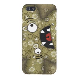 ¡Lunatik fangoso! caso del iPhone 4 iPhone 5 Fundas
