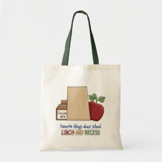 Lunch and Recess/Humor Tote Bag